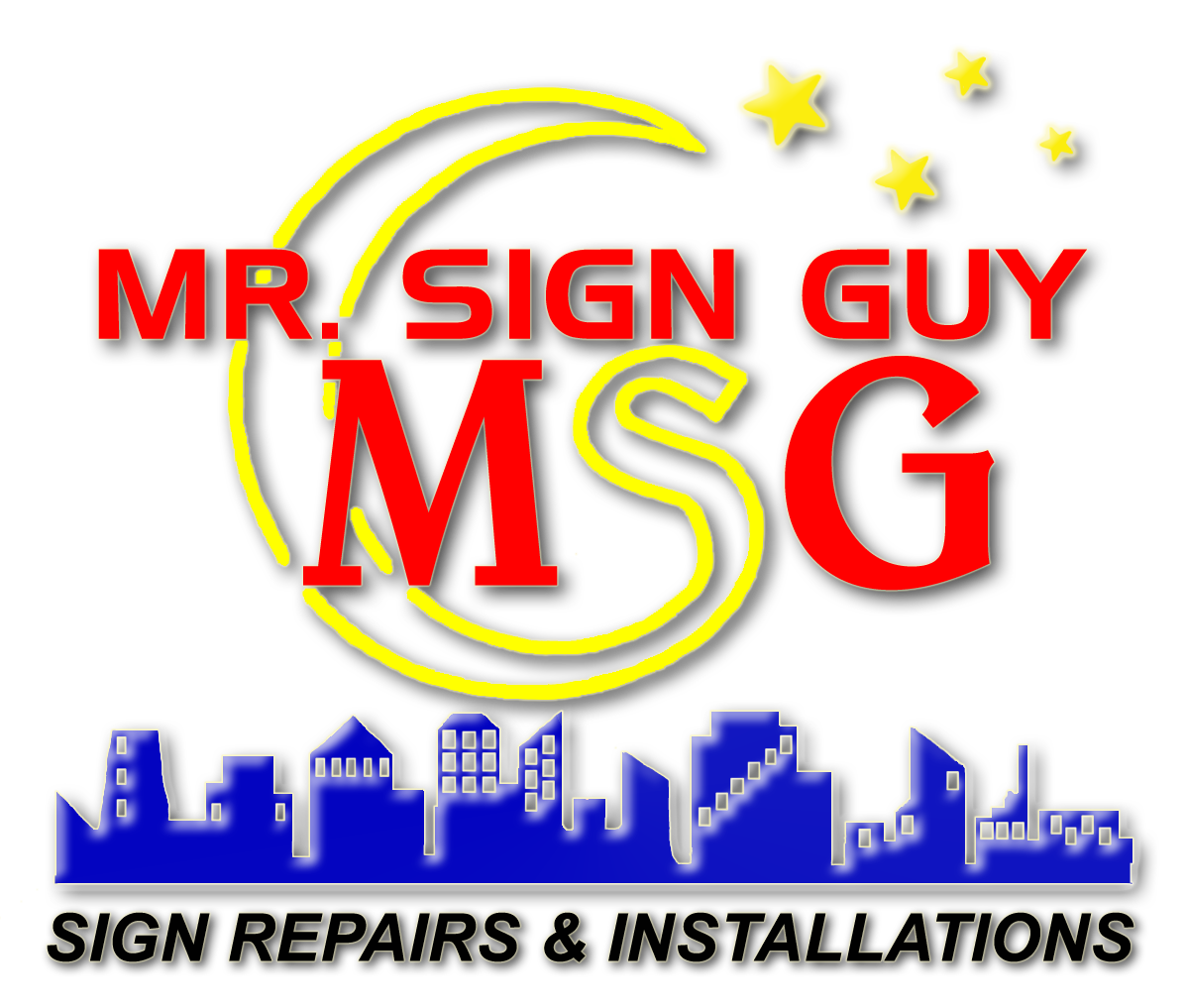 Full Service Sign Repair And Parking Lot